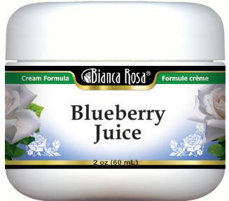 Blueberry Juice Cream