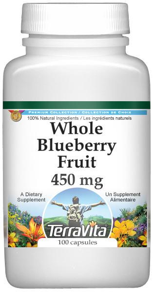 Whole Blueberry Fruit - 450 mg