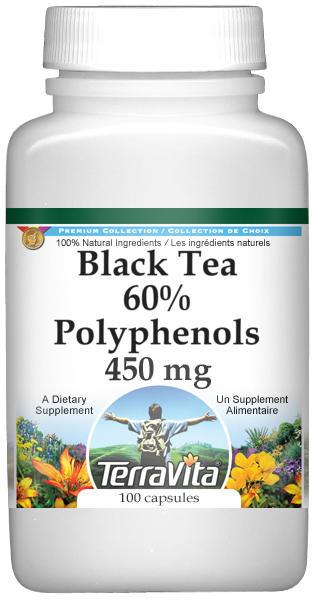 Black Tea 60% Polyphenols - 450 mg