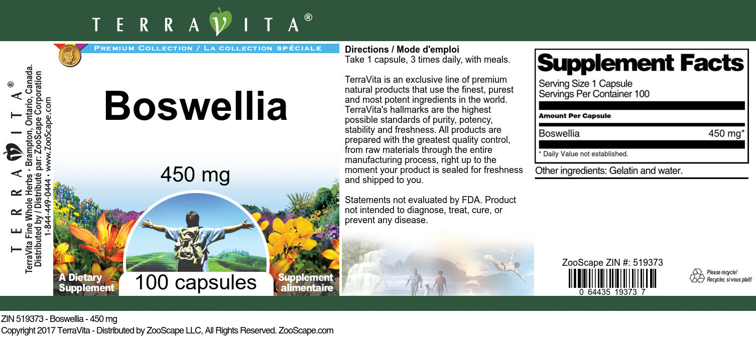 Boswellia - 450 mg