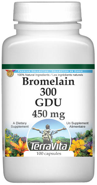Bromelain 300 GDU - 450 mg