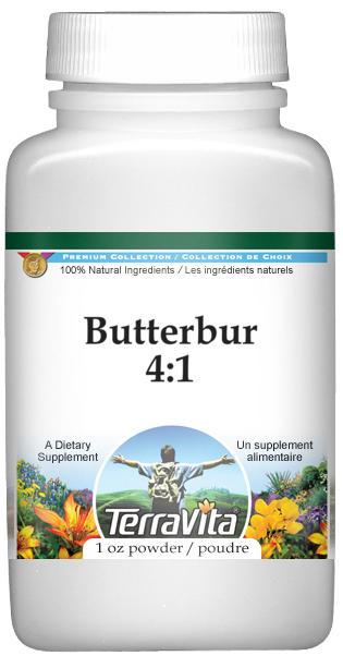 Butterbur 4:1 Powder