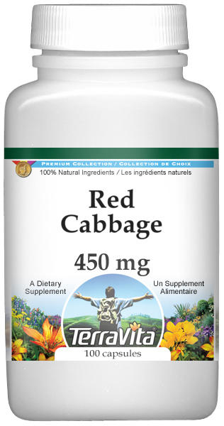 Red Cabbage - 450 mg