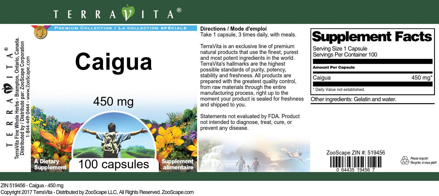 Caigua - 450 mg