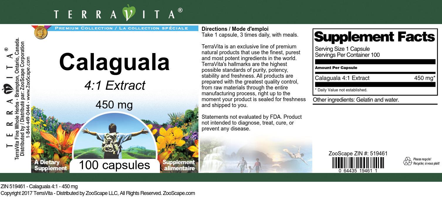 Calaguala 4:1 - 450 mg