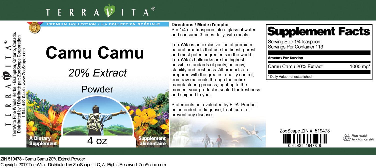 Camu Camu 20% Extract