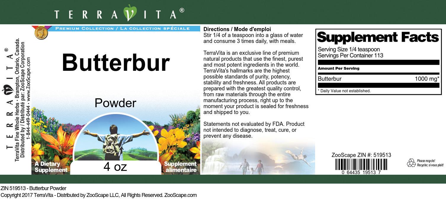 Butterbur Powder