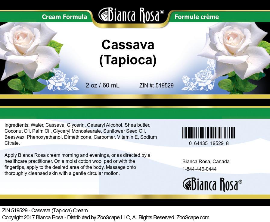 Cassava (Tapioca) Cream
