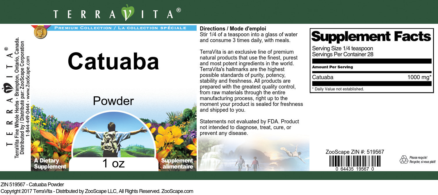 Catuaba Powder