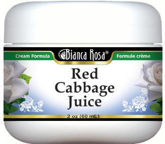 Red Cabbage Juice Cream