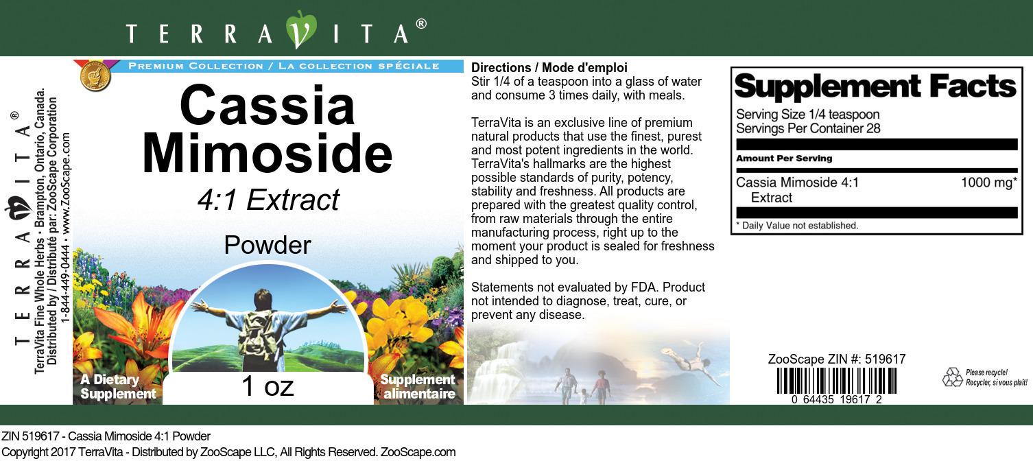 Cassia Mimoside 4:1 Powder