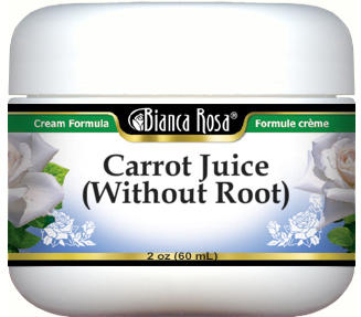 Carrot Juice (without Root) Cream