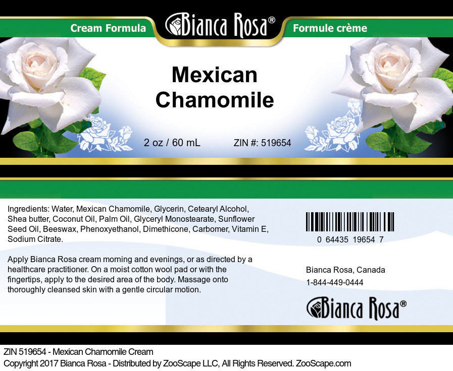 Mexican Chamomile Cream