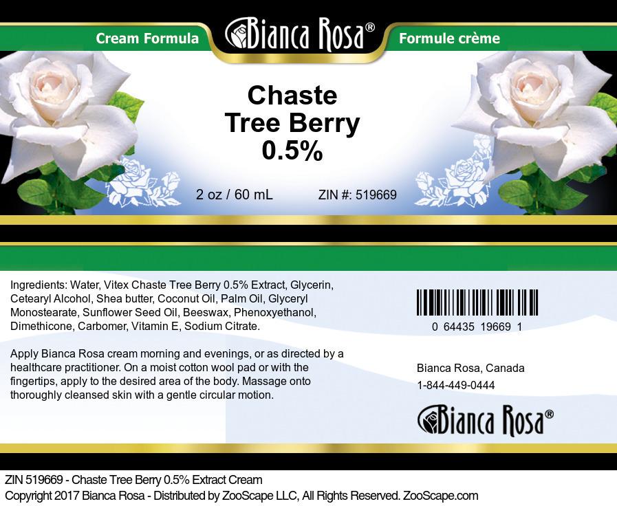Chaste Tree Berry 0.5% Cream