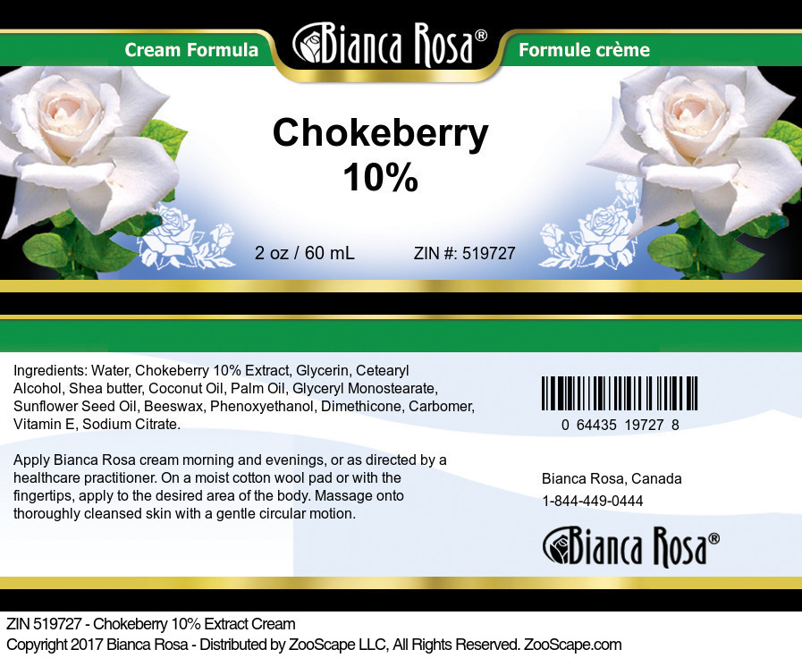 Chokeberry 10% Cream