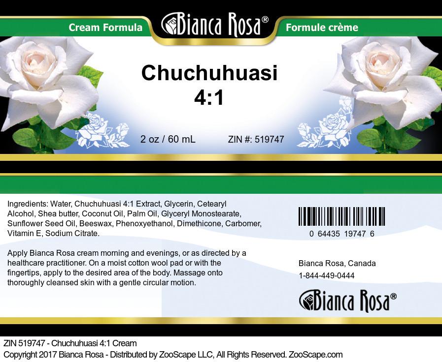 Chuchuhuasi 4:1 Cream