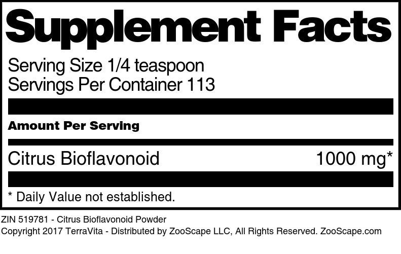 Citrus Bioflavonoid Powder