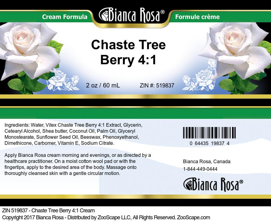 Chaste Tree Berry 4:1 Cream