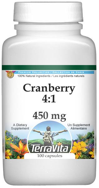 Cranberry 4:1 - 450 mg