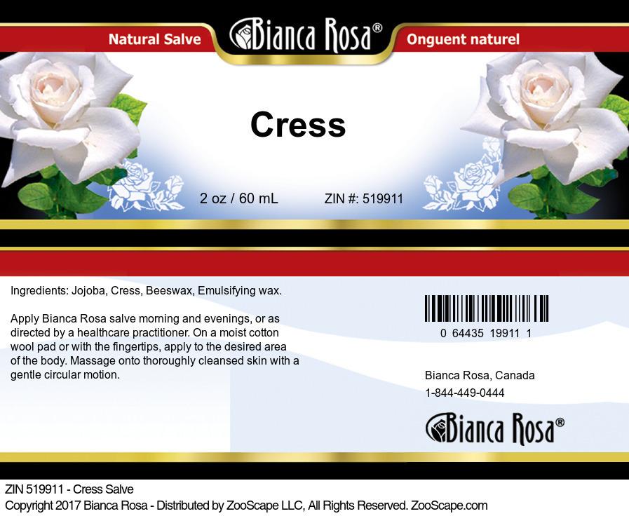 Cress Salve
