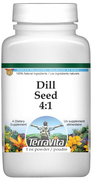 Dill Seed 4:1 Powder