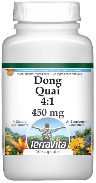 Dong Quai 4:1 - 450 mg