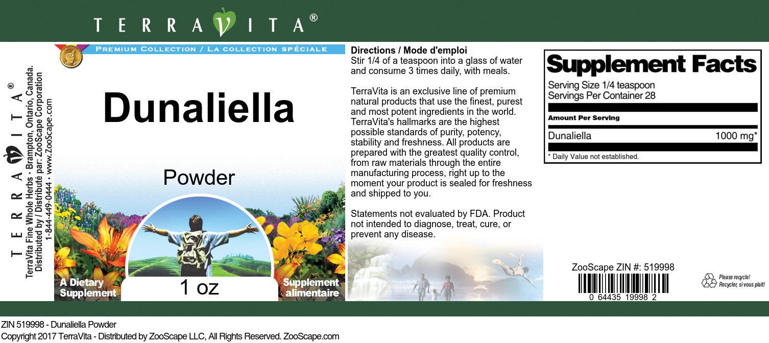 Dunaliella Powder
