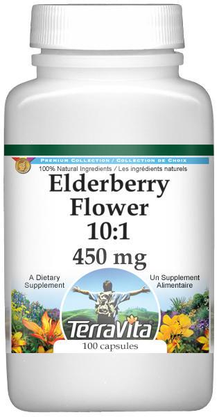 Elderberry Flower 10:1 - 450 mg
