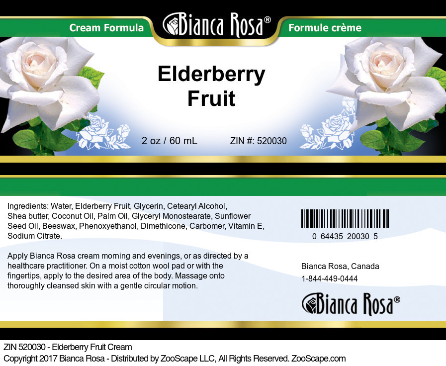 Elderberry Fruit Cream