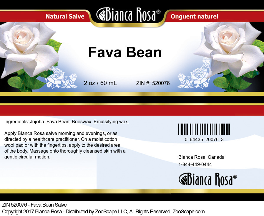Fava Bean Salve