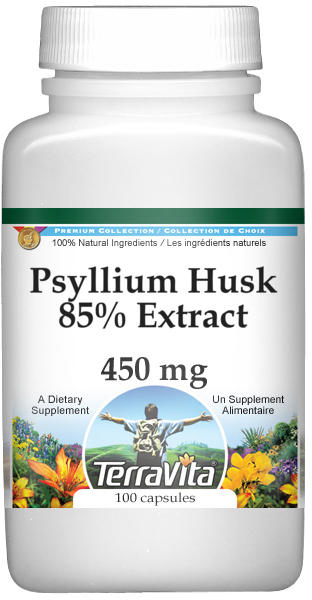 Psyllium Husk 85% Extract - 450 mg