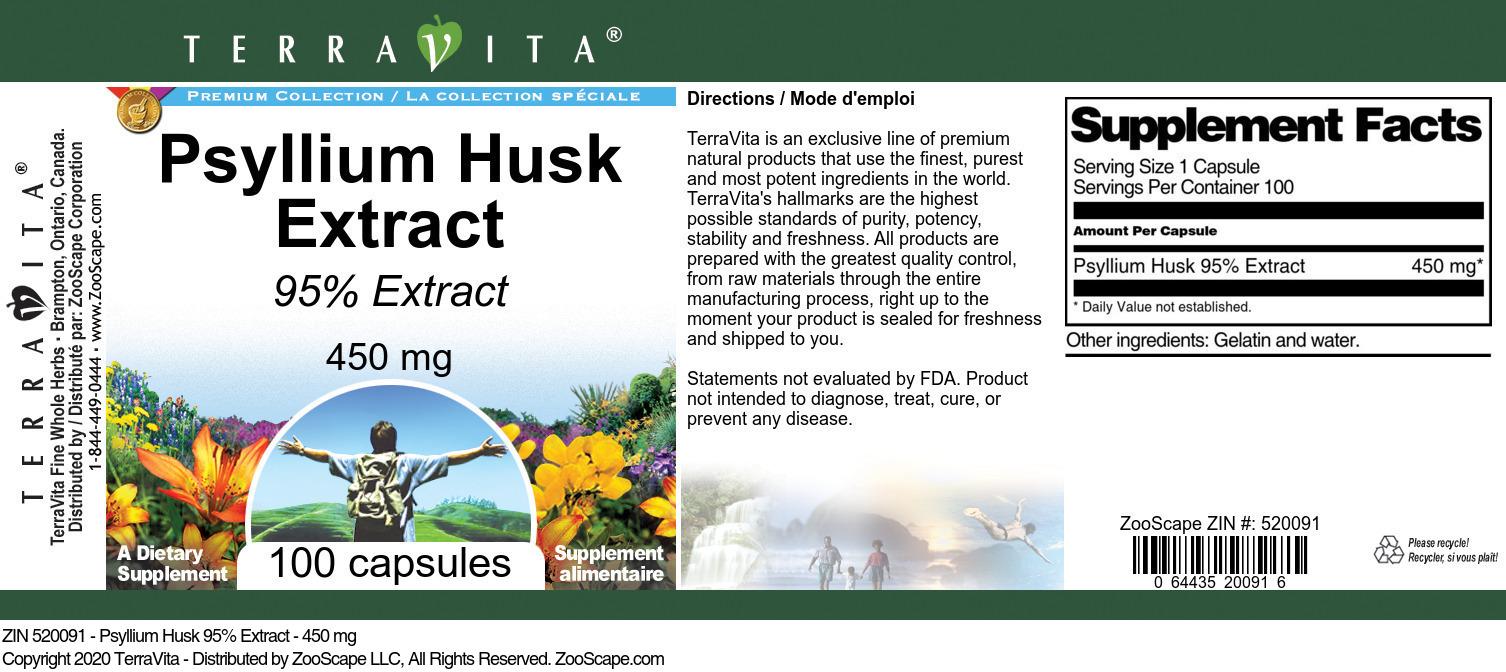 Psyllium Husk 95% Extract