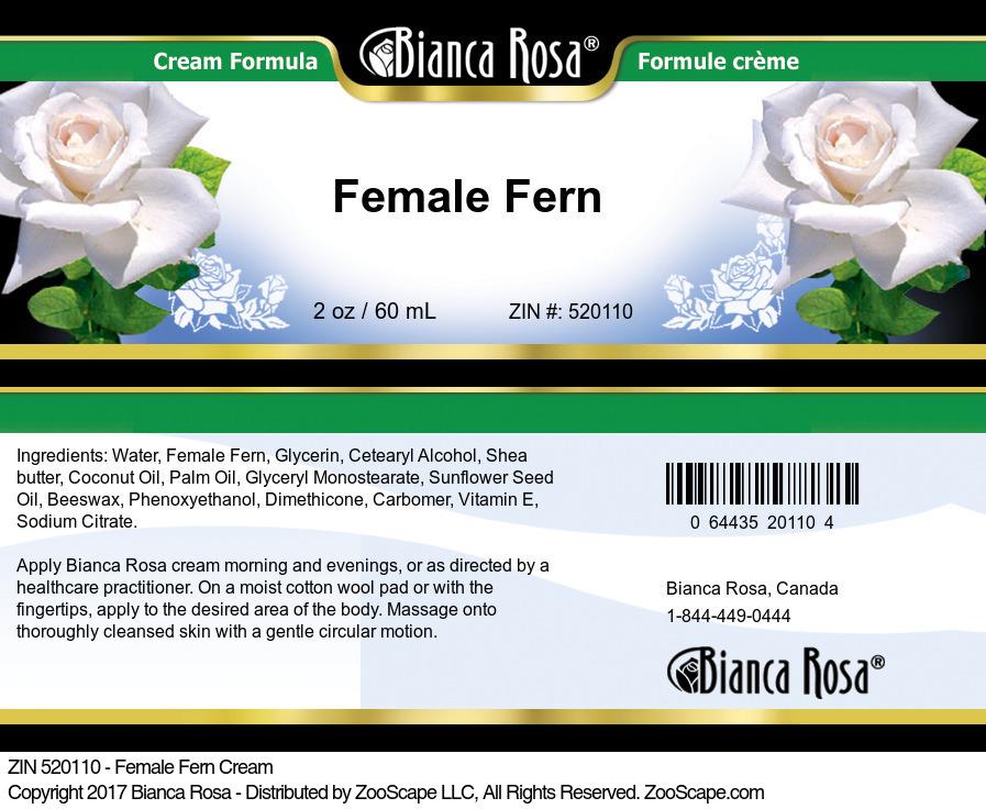 Female Fern Cream