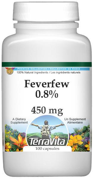 Feverfew 0.8% - 450 mg
