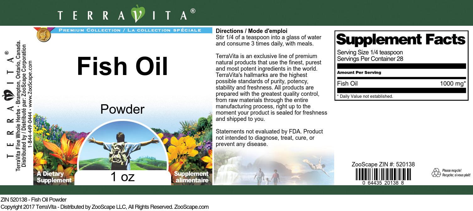 Fish Oil Powder