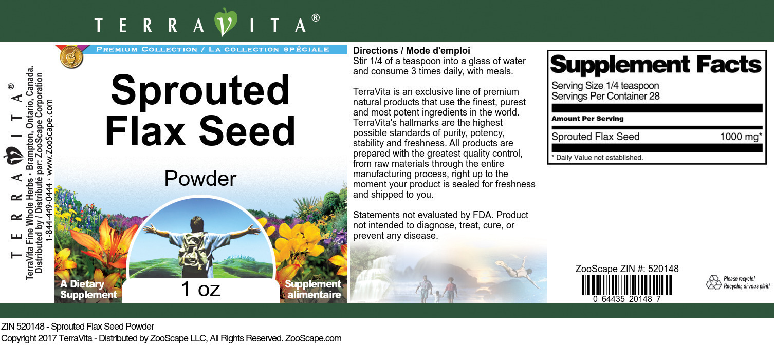 Sprouted Flax Seed