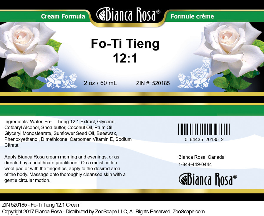 Fo-Ti Tieng 12:1 Cream