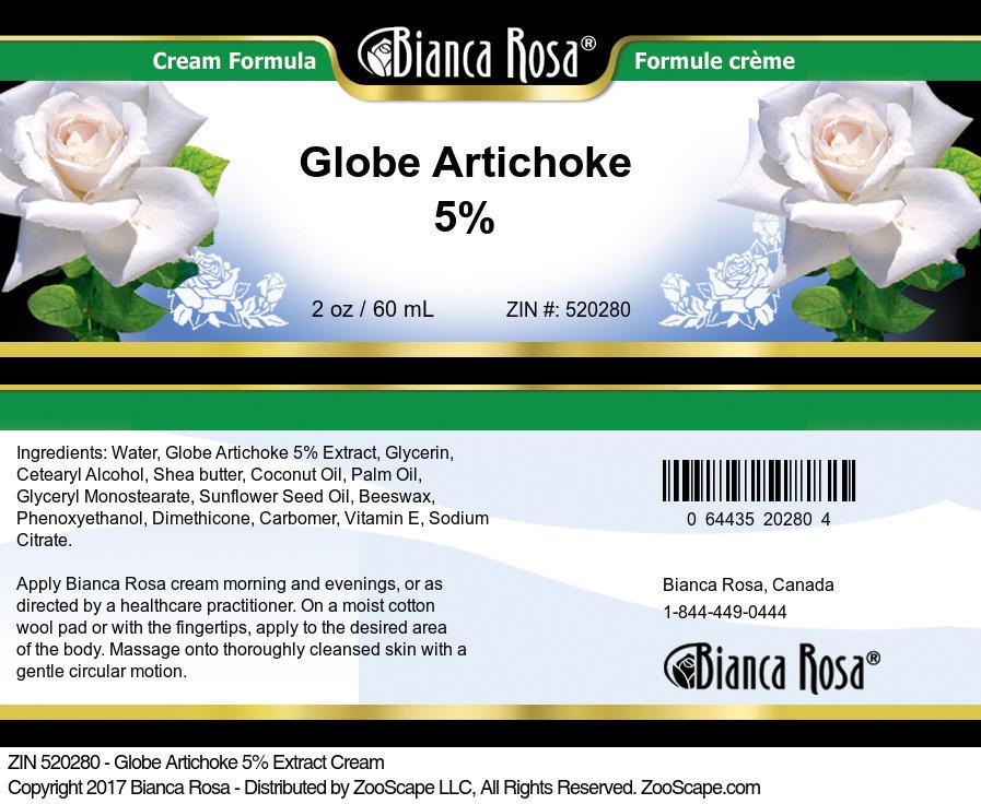 Globe Artichoke 5% Cream