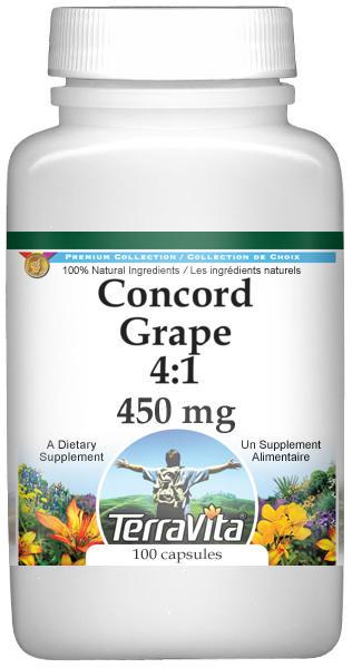 Concord Grape 4:1 - 450 mg