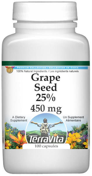 Grape Seed 25% - 450 mg