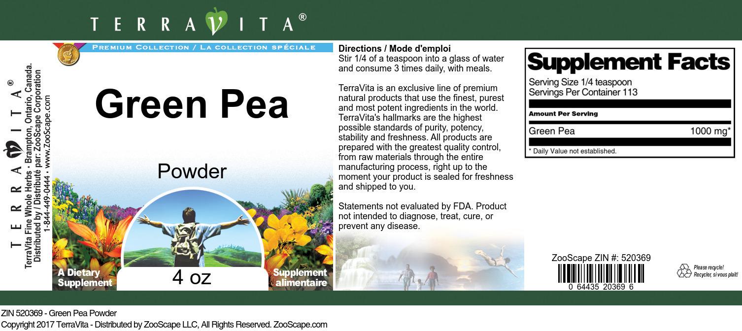 Green Pea Powder