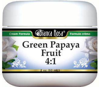 Green Papaya Fruit 4:1 Cream