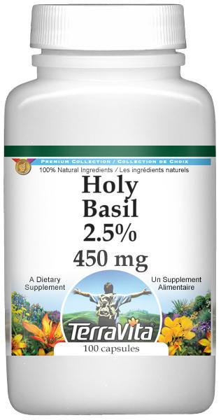 Holy Basil 2.5% - 450 mg