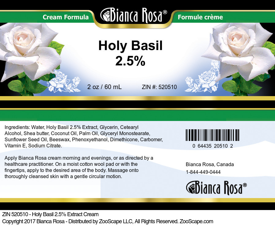 Holy Basil 2.5% Extract