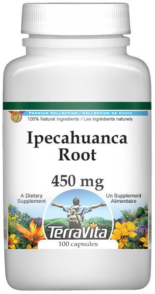 Ipecahuanca Root - 450 mg