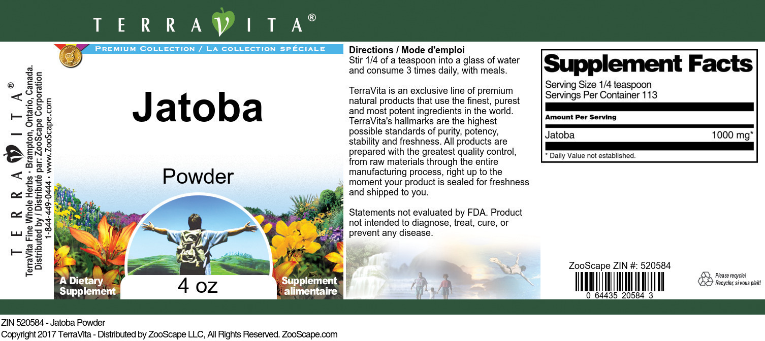 Jatoba Powder