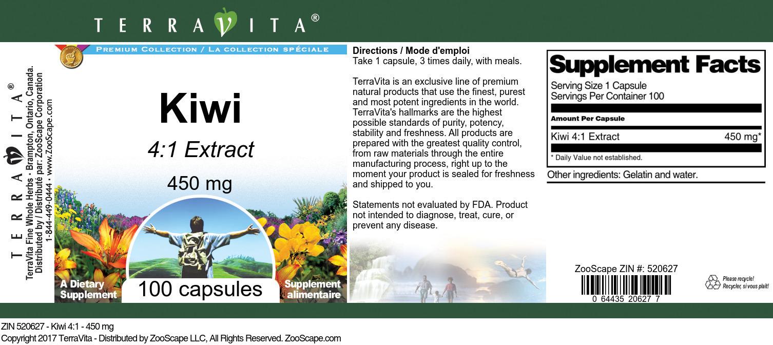 Kiwi 4:1 - 450 mg