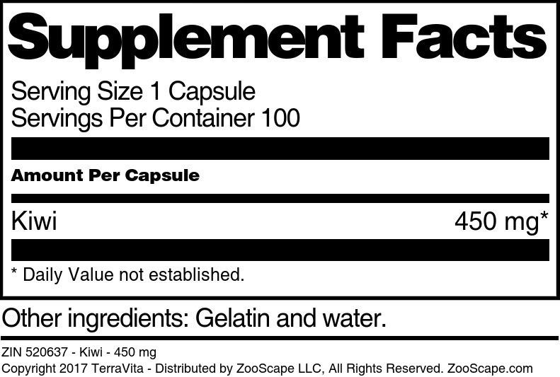 Kiwi - 450 mg
