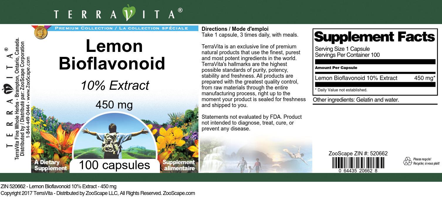 Lemon Bioflavonoid 10% - 450 mg