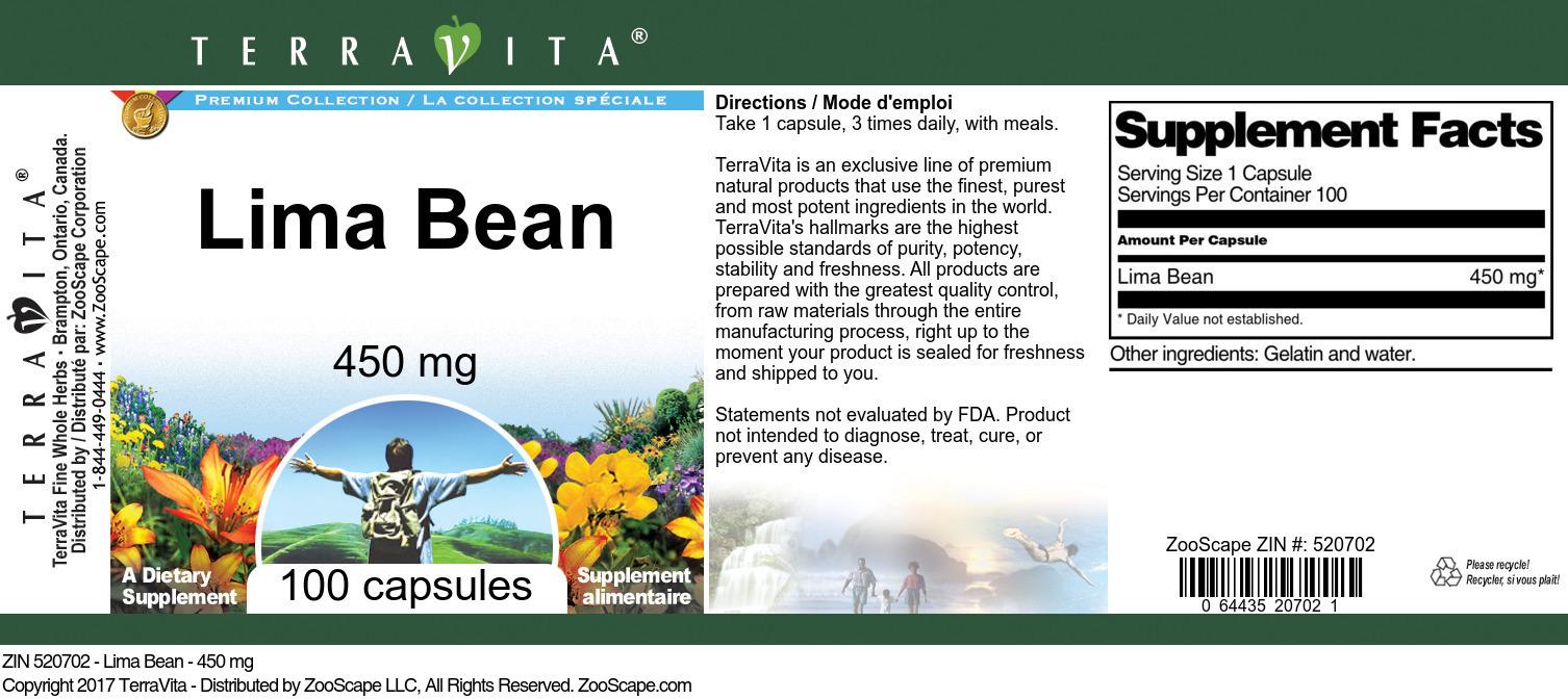 Lima Bean - 450 mg